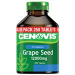 Cenovis Grape Seed 12000mg 250 Tablets Exclusive