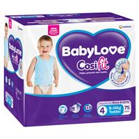 Babylove Cosifit Jumbo Nappies Toddler 75