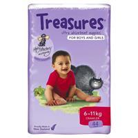 Treasures Nappies Bulk Crawler 44 Pack