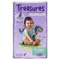 Treasures Nappies Bulk Toddler 36 Pack