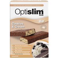 Optislim VLCD Bar Cookies and Cream Bars 5 Pack