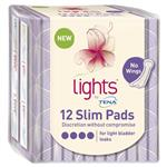 Tena Light Slim Pads 12 Pack