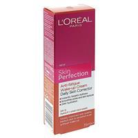 L'Oreal Dermo Skin Perfection Anti Fatigue Wake Up Cream SPF 15 35ml