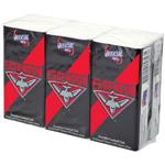 AFL Pocket Tissues Essendon 6 Pack