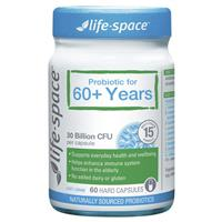 Life Space Probiotic For 60+ Years 60 Capsules