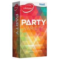 Ansell Lifestyle Party Condoms 10 Pack