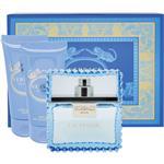 Versace Eau Fraiche Set Eau de Toilette 50ml plus Shower Gel 50ml plus Shampoo 50ml