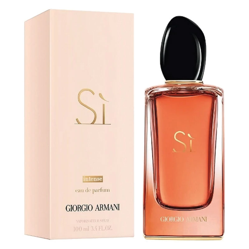 buy giorgio armani si intense eau de parfum 100ml online. Black Bedroom Furniture Sets. Home Design Ideas