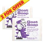 Goat Soap 2 for $5 With Argan Oil 100g