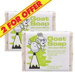Goat Soap 2 for $4 With Lemon Myrtle 100g