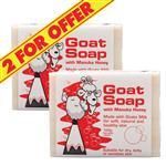 Goat Soap 2 for $5 With Manuka Honey 100g