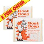 Goat Soap 2 for $5 With Oatmeal 100g