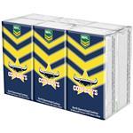 NRL Pocket Tissues North Queensland Cowboys 6 Pack