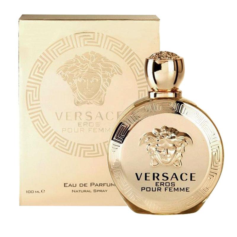 buy versace eros pour femme eau de parfum 100ml online at. Black Bedroom Furniture Sets. Home Design Ideas