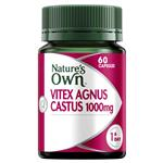 Nature's Own Vitex Agnus Castus 1000mg 60 Capsules