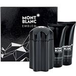 Mont Blanc Emblem Eau de Toilette 100ml 3 Piece Set