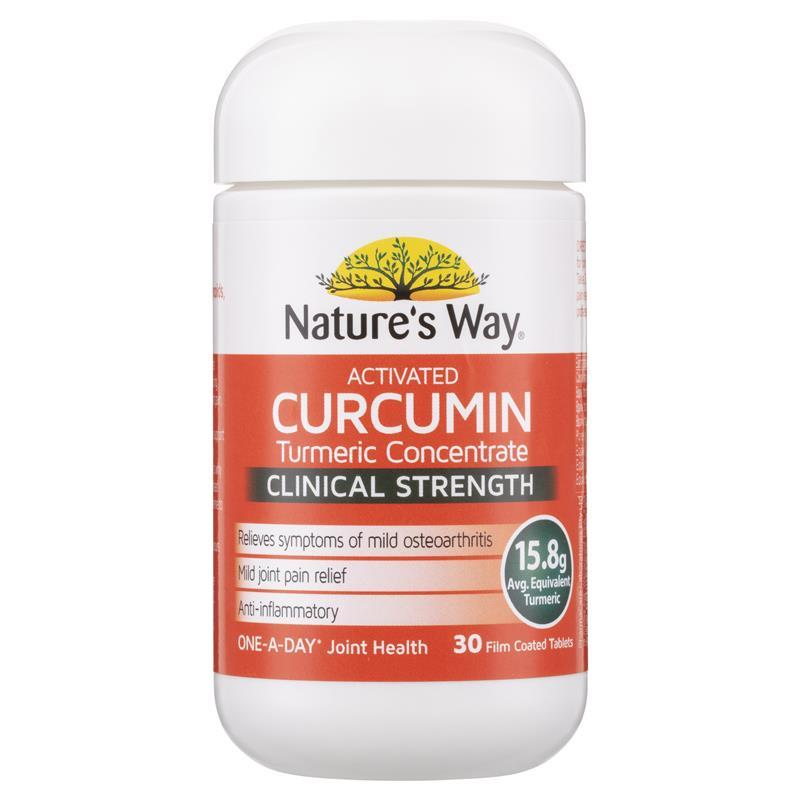 curcumin way nature tablets activated clinical chemist strength warehouse