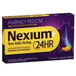Nexium 24hr 20mg Tablets 7