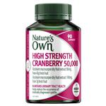 Nature's Own Cranberry 50000mg 90 Capsules