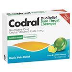 Codral Lime & Lemon 36 Lozenges