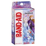 Band-Aid Character Adhesive Bandages Disney Frozen 15 Pack