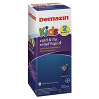 Demazin Kids Cold and Flu Relief 200ml