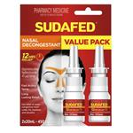 Sudafed Nasal Decongestant Spray 20mL Twin Pack