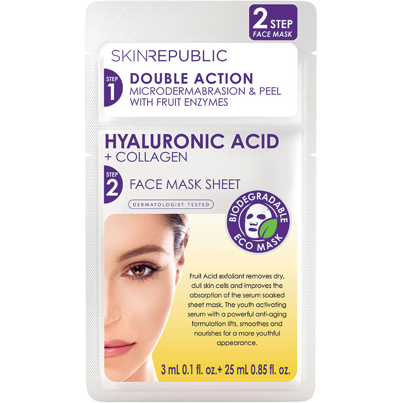 Buy Skin Republic Two Step Hyaluronic Acid And Collagen