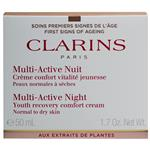 Clarins Multi-Active Night Comfort Cream Normal/Dry Skin 50ml