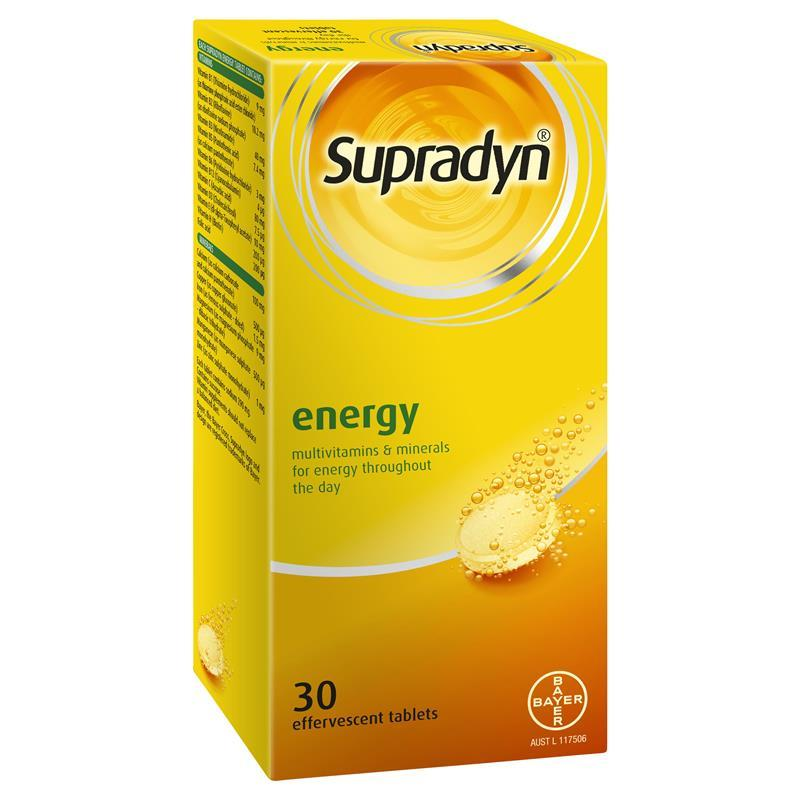 Pay Here Buy Here >> Buy Supradyn Effervescent Tablets 30 Online at Chemist ...