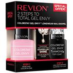 Revlon Colorstay Gel Envy Duo Packs Cardshark Diamond Top Coat