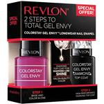 Revlon Colorstay Gel Envy Duo Packs Royal Flush Diamond Top Coat