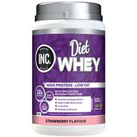 INC Diet Whey Strawberry Flavour 500g