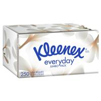 Kleenex Facial Tissues 250 Jumbo White