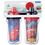 Disney Insulated Straw Cup Cars 2 Pack