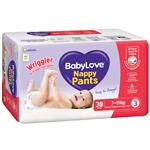 Babylove Nappy Pants Wriggler 34
