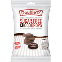 Double D Sugarfree Choc Drops 70g
