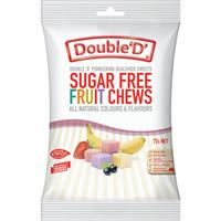 Double D Sugarfree Fruit Chews 70g