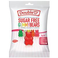 Double D Sugarfree Gummy Bears 90g