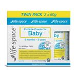 Life Space Probiotic For Baby 2x60g Value Pack Exclusive Size