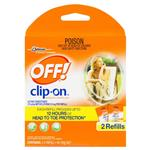 Off! Clip On Mosquito Repellent 2 Refills