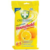 Green Shield Household Wipes 50