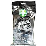 Green Shield Stainless Steel Wipes 50