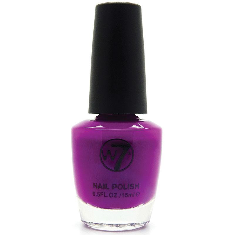 W7 Nail Enamel 77 Neon Purple - ePharmacy