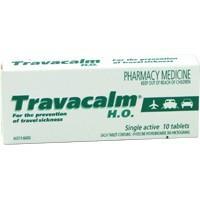 Travacalm HO Tablets 10