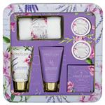 Grace Cole Essential Treasures Lavender and Honeysuckle 5 Piece Gift Set