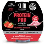 Slim Secrets Protein Pud With Chia Strawberry 115g