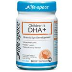 Life Space Childrens DHA +Lutein 60 Soft Gels