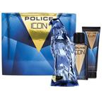 Police Icon Eau de Parfum 125ml 3 Piece Set