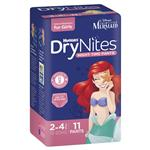 Huggies DryNites Girl 2-4 Years 11 Pack